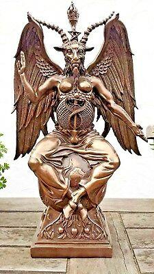 Baphomet Bronze statue