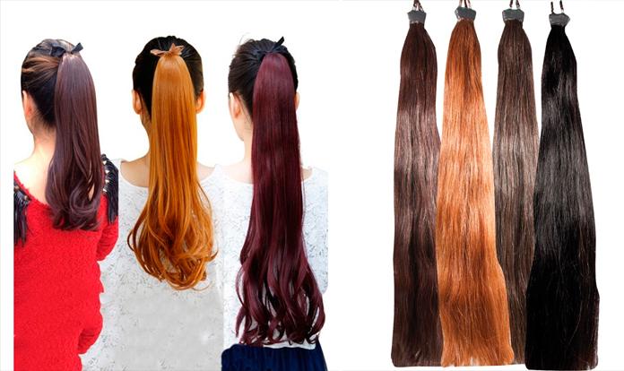 Horsetail Hair Extension