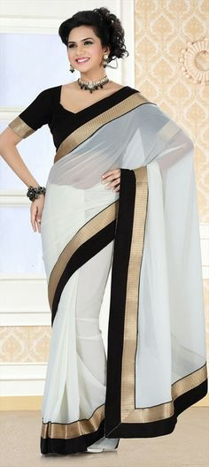 83d82b9ffd2d2edd4cf7e2aba3a816c9--white-saree-wedding-sarees
